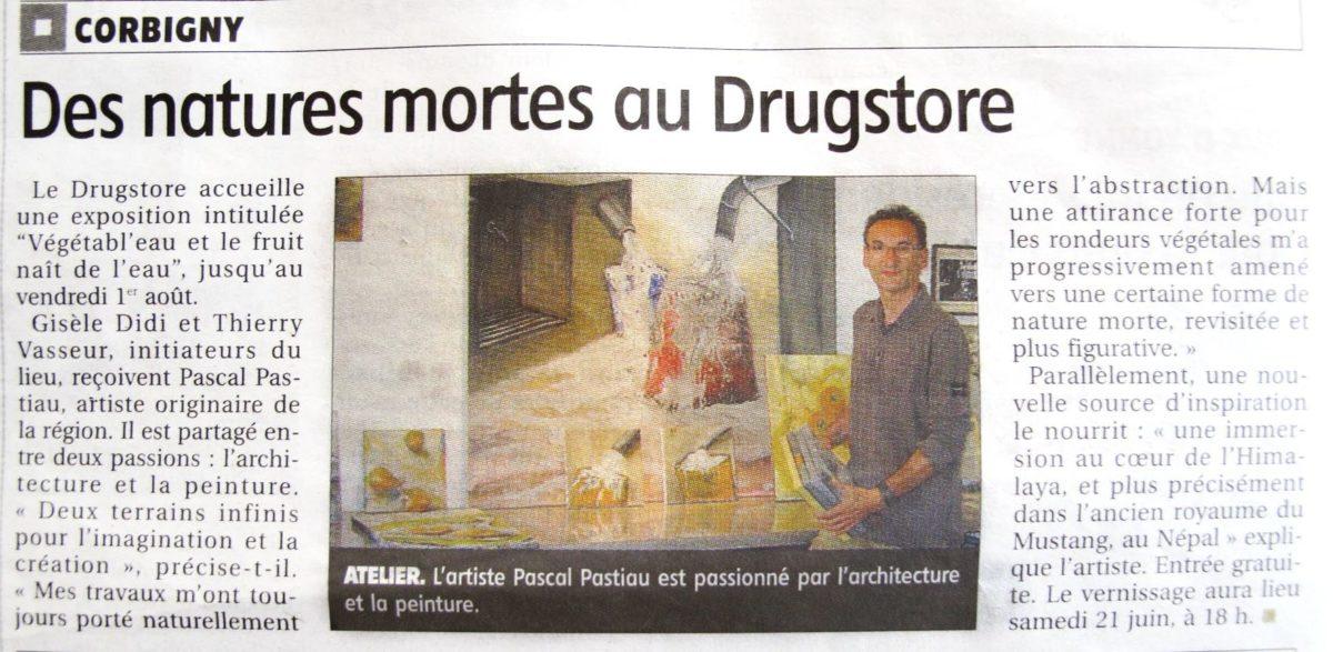 Article Pascal pastiau dans le journal